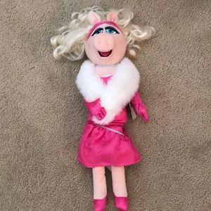 NWT! Miss Piggy Stuffed Animal